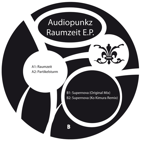 Audiopunkz – Raumzeit EP – M.M.A.D Records